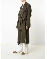 Vivienne Westwood Red Label - Brown 'gabelle' Coat - Lyst