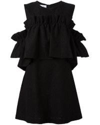 Ainea - Black Lace Dress - Lyst