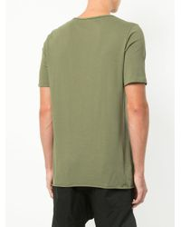 Bassike - Green Classic Short-sleeve T-shirt for Men - Lyst