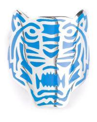 KENZO - Blue ' Tigresse' Ring - Lyst
