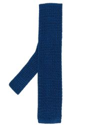 Tom Ford - Blue Knitted Tie for Men - Lyst