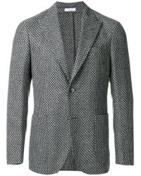 Boglioli - Black Patterned Blazer for Men - Lyst