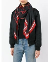 Givenchy | Black Bambi Print Scarf | Lyst