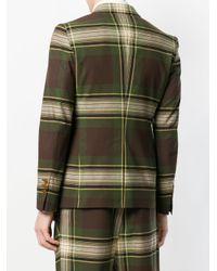 Vivienne Westwood - Green Tartan Suit Jacket for Men - Lyst