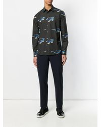 Paul Smith - Black Sunglasses Print Shirt for Men - Lyst