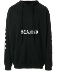 Stampd - Black Logo Hoodie for Men - Lyst