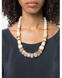 Lizzie Fortunato - Metallic Sands Necklace - Lyst