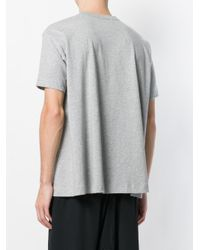 Comme des Garçons - Gray Oversized T-shirt for Men - Lyst
