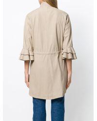 DROMe - Natural Oversized Shirt Jacket - Lyst