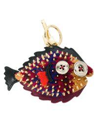 Burberry - Multicolor Piranha Keyring - Lyst