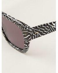 Dita Eyewear - Black Wayfarer Sunglasses - Lyst