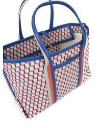 Pierre Hardy | Blue Geometric Print Tote | Lyst