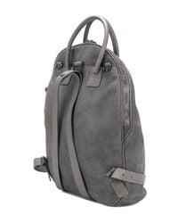 Marsèll - Gray Fold Detail Backpack - Lyst