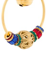 Dolce & Gabbana - Multicolor Sacred Heart Hoop Earrings - Lyst