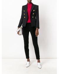Dolce & Gabbana - Black Velvet Trousers - Lyst