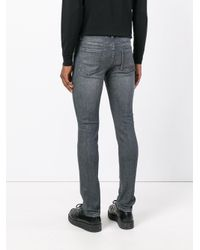 Maison Margiela - Gray Skinny Jeans for Men - Lyst