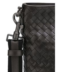 Bottega Veneta - Brown - Interlaced Leather Crossbody Bag - Women - Calf Leather - One Size - Lyst