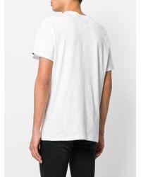 Rag & Bone - White Embroidered Knife T-shirt for Men - Lyst