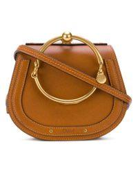 Chloé - Brown Nile Shoulder Bag - Lyst