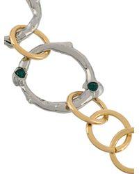 Marni - Metallic Interlocking Hoop Bracelet - Lyst