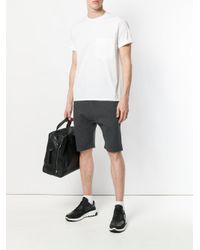 Neil Barrett - Gray Track Shorts for Men - Lyst