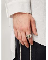Tobias Wistisen - Metallic Amethyste Ring for Men - Lyst