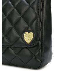 Twin Set - Black Diamond Quilt Shoulder Bag - Lyst