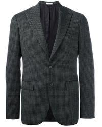 Boglioli - Gray Flap Pocket Blazer for Men - Lyst