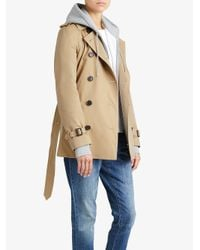 Burberry - Brown The Chelsea – Short Trench Coat - Lyst