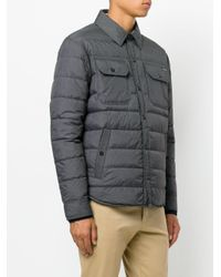 Polo Ralph Lauren - Gray Padded Jacket for Men - Lyst