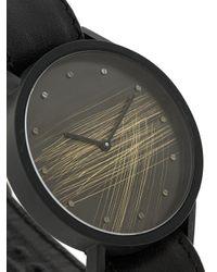 South Lane Black Avant Surface Watch
