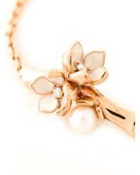 Shaun Leane - Metallic 'cherry Blossom' Diamond Bracelet - Lyst