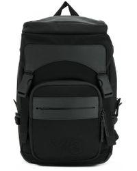 Y-3 - Black Large Backpack for Men - Lyst