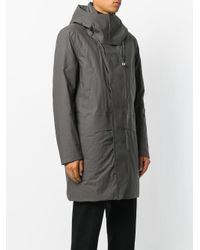 Peuterey - Gray Hooded Parka for Men - Lyst