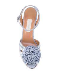 L'Autre Chose - Blue Tangled Applique Sandals - Lyst