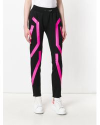 Philipp Plein - Black Printed Track Pants - Lyst