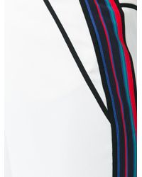 Tory Burch - Multicolor Wide-legged Straight Trousers - Lyst