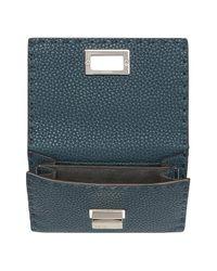 Fendi - Blue Peekaboo Wallet - Lyst