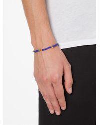 Luis Morais | Blue Mini Skull Beaded Bracelet | Lyst