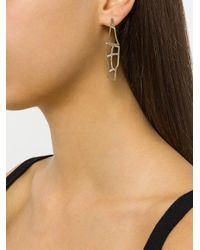 Polina Sapouna Ellis - Metallic Tethrippon Earrings - Lyst