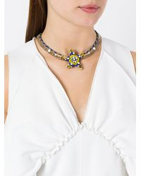 Rada' - Blue Star Pendant Short Necklace - Lyst