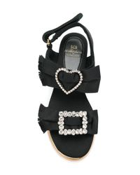 Suecomma Bonnie - Black Sabrina Sandals - Lyst