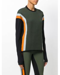 No Ka 'oi - Green Ribbed Colourblock Top for Men - Lyst