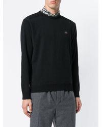 Paul & Shark - Black Classic Knitted Sweater for Men - Lyst