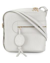 Nina Ricci - White Zip Around Shoulder Bag - Lyst