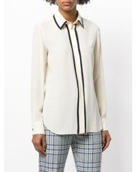 Mantu - Multicolor Longsleeved Stripe Detail Shirt - Lyst