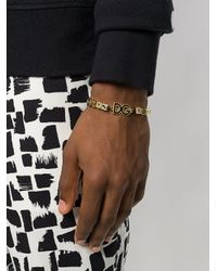 Dolce & Gabbana - Metallic Boys Boys Cube Bead Bracelet for Men - Lyst