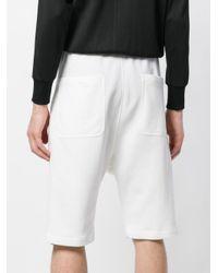 Neil Barrett White Bermuda Shorts for men