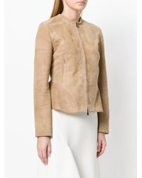 DROMe - Natural Collarless Jacket - Lyst