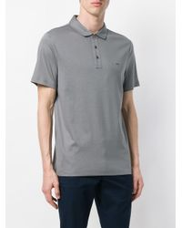 Michael Kors - Gray Classic Polo Shirt for Men - Lyst